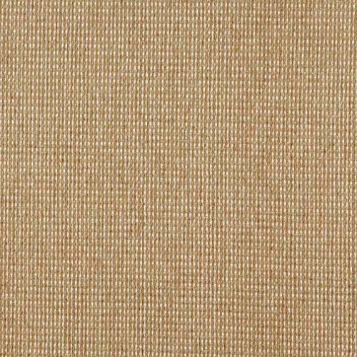 Seagrass Gold and White Contemporary Chenille Basketweave Upholstery Fabric by the -