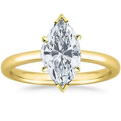 emerald cut half carat diamond engagement ring setting in 14K rose gold  FDENS3043EMR NL RG