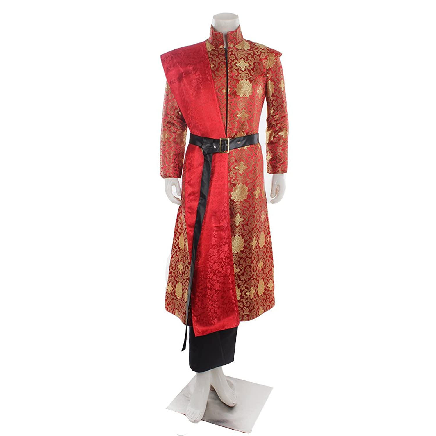 amazoncom cosplaydiy menu0027s costume outfit for game of thrones king joffery cosplay clothing