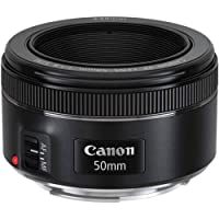 Lente EF 50mm f/1.8 STM, Canon, Lentes para Câmeras, Preta