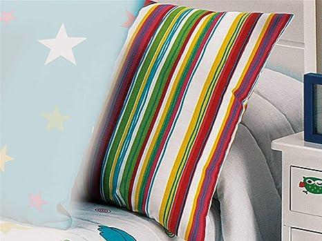 CAÑETE - Cojín Bird 50x70 cm - Mod. Stripe: Amazon.es: Hogar