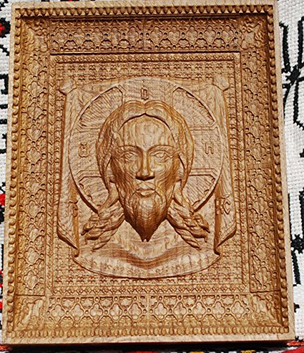 Veil of Veronica Religious icons Personalized engraved gift Wood Carved religious wall decor FREE ENGRAVING FREE SHIPPING by Woodenicons Artworkshop ''Tree of life'' (Image #4)
