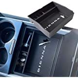 EDBETOS Center Console Organizer Tray for Toyota Sienna Accessories 2011-2020 Secondary Armrest Storage Glove Box Dividers MP