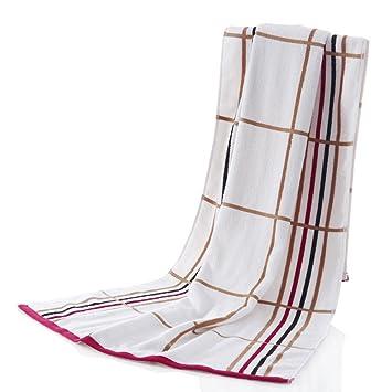 Toalla de baño suave grande algodón puro de algodón Las mujeres absorben agua suave amantes (