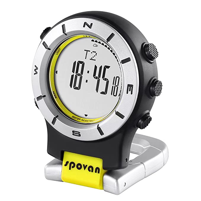 Lixada Reloj Smart Altímetro Barómetro Brújula LED Watch
