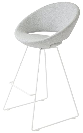 Soho Concept Crescent Draht Hocker, schwarz Powder Boden Finish ...