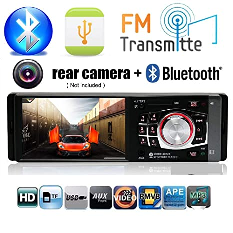BoomBoost Radio de coche Estéreo FM 4.1 Bluetooth HD USB / TF / EQ
