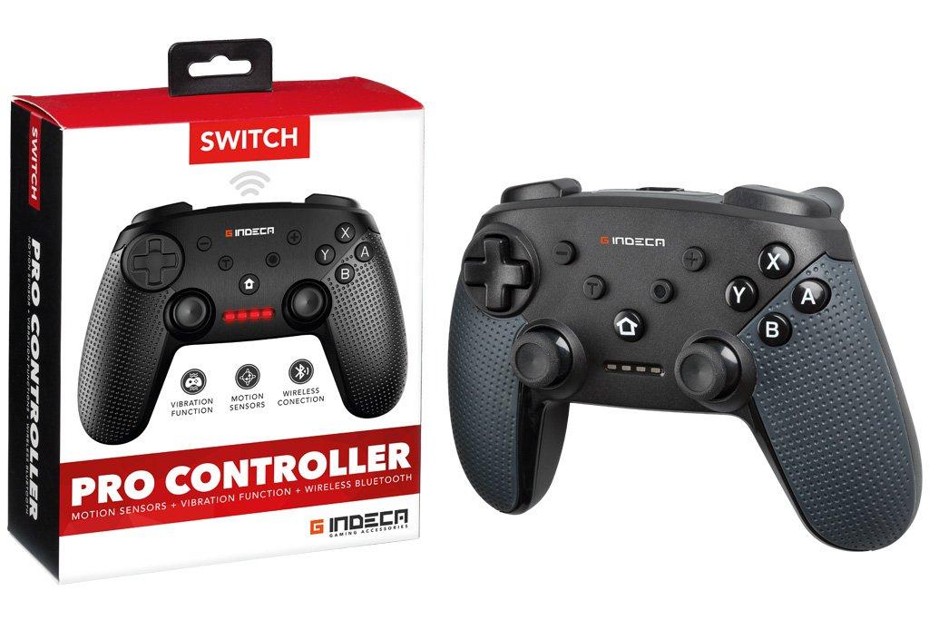 Indeca - Mando Pro Controller Gamepad Wireless (Nintendo Switch): Amazon.es: Videojuegos