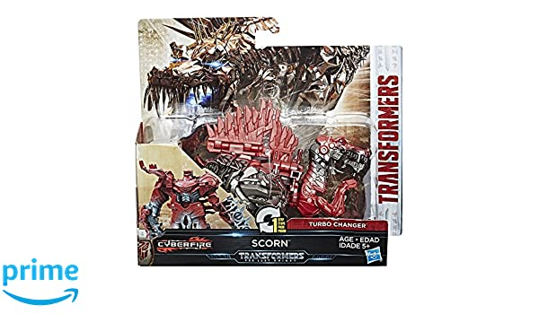 Transformers: The Last Knight 1-Step Turbo Changer Scorn (Sun): Amazon.es: Juguetes y juegos