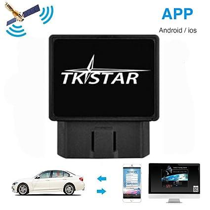 Hidden Gps Tracker For Car >> Obd2 Vehicle Hidden Gps Tracker No Installation Realtime Car Truck