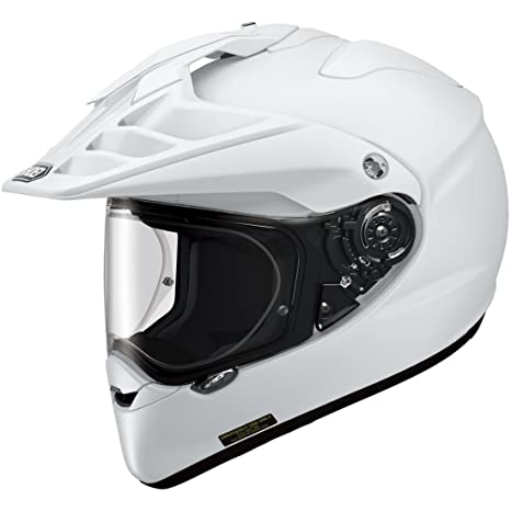 Shoei Hornet ADV Plain White White XS