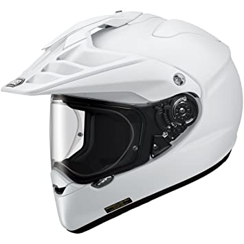 Shoei Hornet ADV Plain White White M