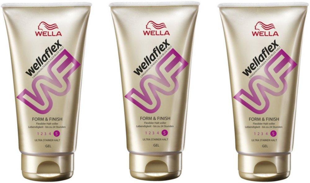 Wellaflex Gel Form and Finish ultra starker Halt, 3er Pack (3 x 150 ml) 8699568502273