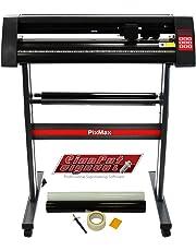 "PixMax Vinyl Cutter Plotter Machine 28"", SignCut Pro Design Software & Weeding Pack, Black"
