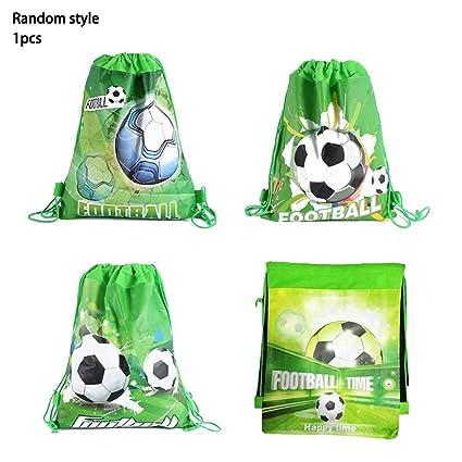 FancyswES8eety Patrón de fútbol Niños Cumpleaños Festival ...