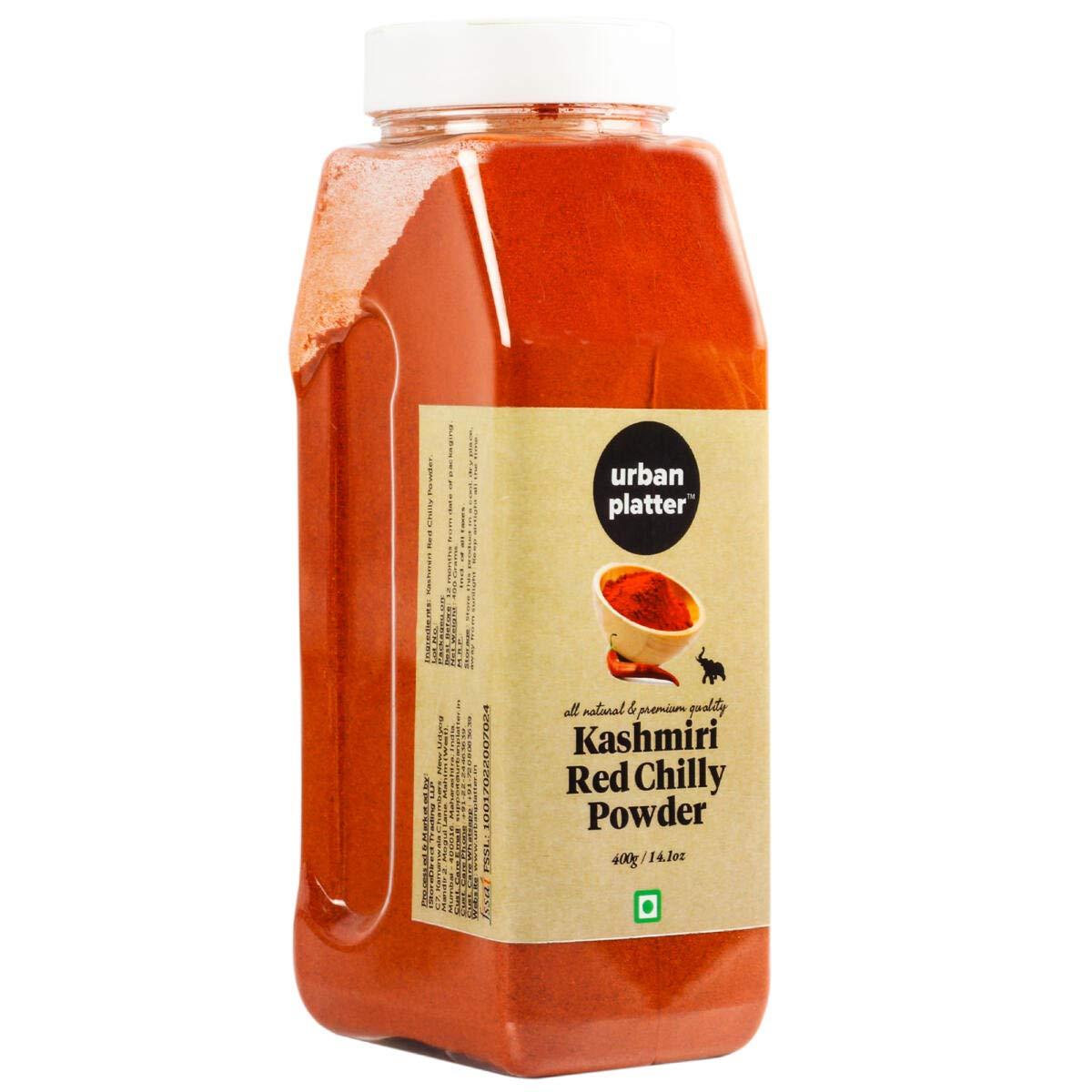 Urban Platter Kashmiri Red Chilly Powder 400g Buy Online In Bahamas At Bahamas Desertcart Com Productid 75826978