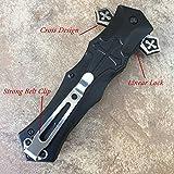 Tac Force Dagger Style Folding Knife, Black