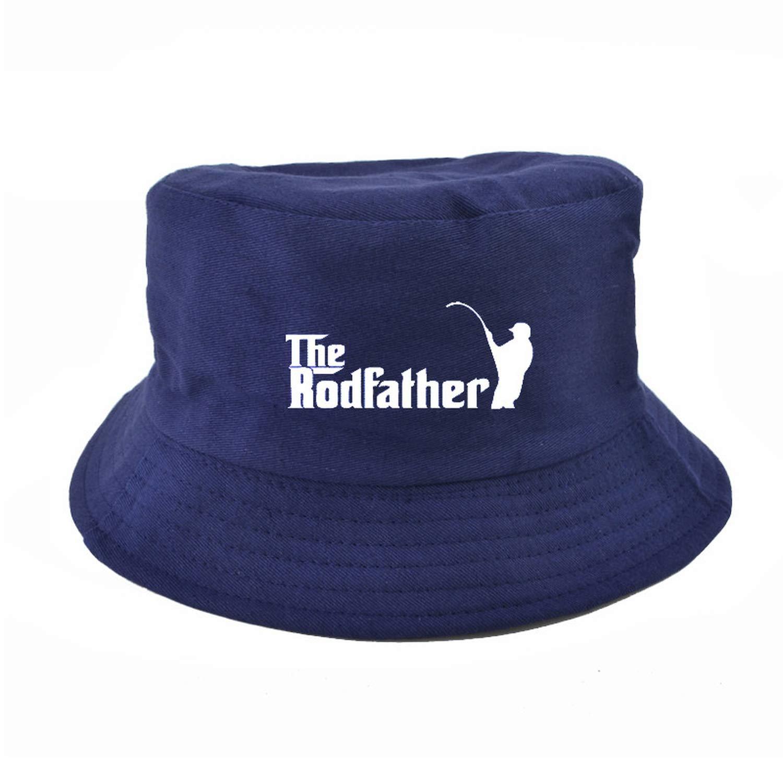 XINBONG The Rodfather Print Bucket Hat for Women Men Couple Spring Summer Fisherman Hats Harajuku pop Panama Basin Cap