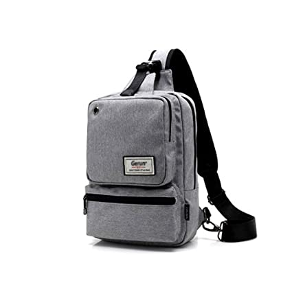 Image Unavailable. Image not available for. Color  High-capacity Chest Bag  Men s Shoulder Bag Korean Sports Small Backpack ... bce4511a7448e
