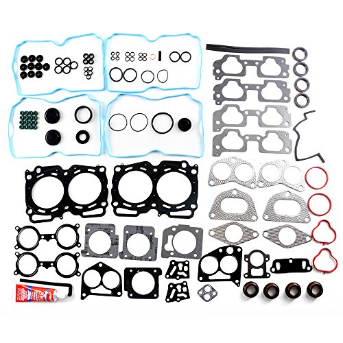 - ECCPP Head Gasket Set Engine Head Gaskets fit 2004-2009 Subaru Legacy Outback Forester Saab 2.5L SOHC Automotive Replacement