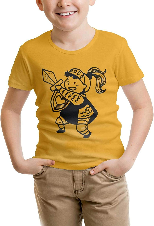 usYnCV Cotton Swordsman t Shirt Solid for Kids Shirts Cute Pattern