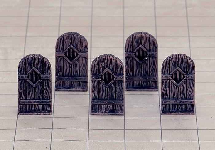5-Piece Set of Tavern Wood Inn Terrain Doors & Amazon.com: 5-Piece Set of Tavern Wood Inn Terrain Doors: Handmade