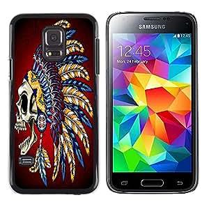 Dragon Case - FOR Samsung Galaxy S5 Mini, SM-G800 - No wisdom like silence - Caja protectora de pl??stico duro de la cubierta Dise?¡Ào Slim Fit