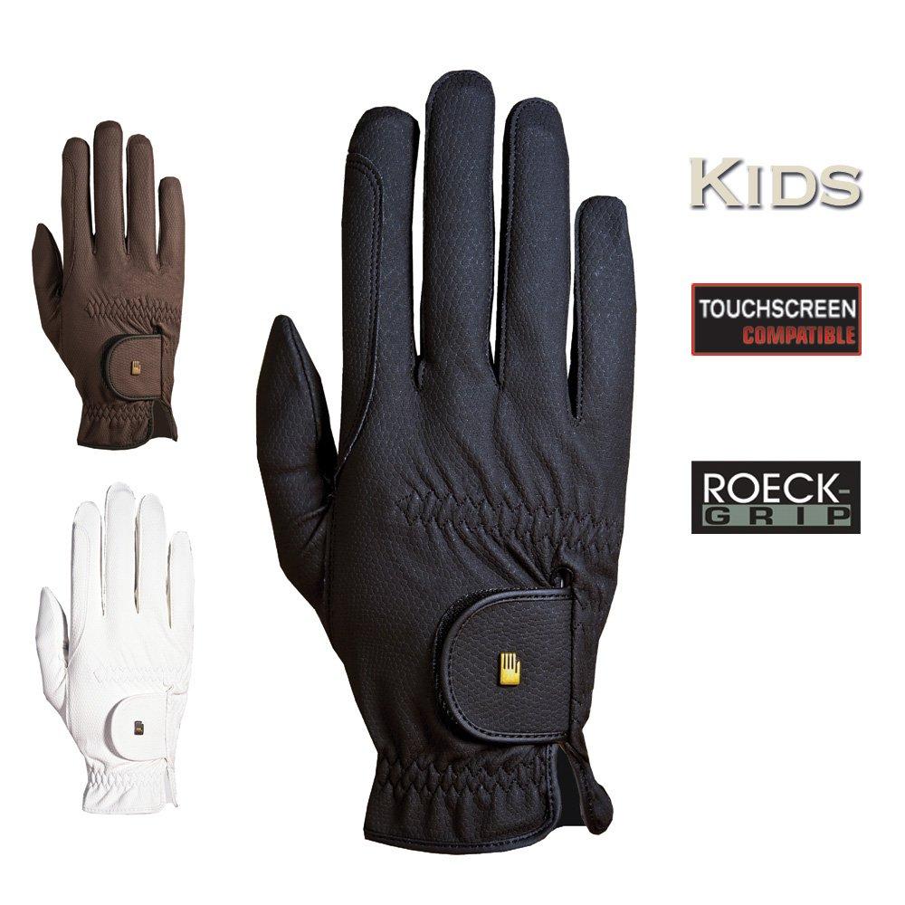 Roeckl Reithandschuhe Kinder 3305-208 Gr 5 schwarz Touchscreen Compatible