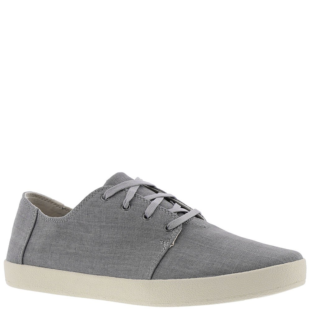 TOMS Men's Payton Denim Chambray Sneaker Grey Denim (10.5 D US)