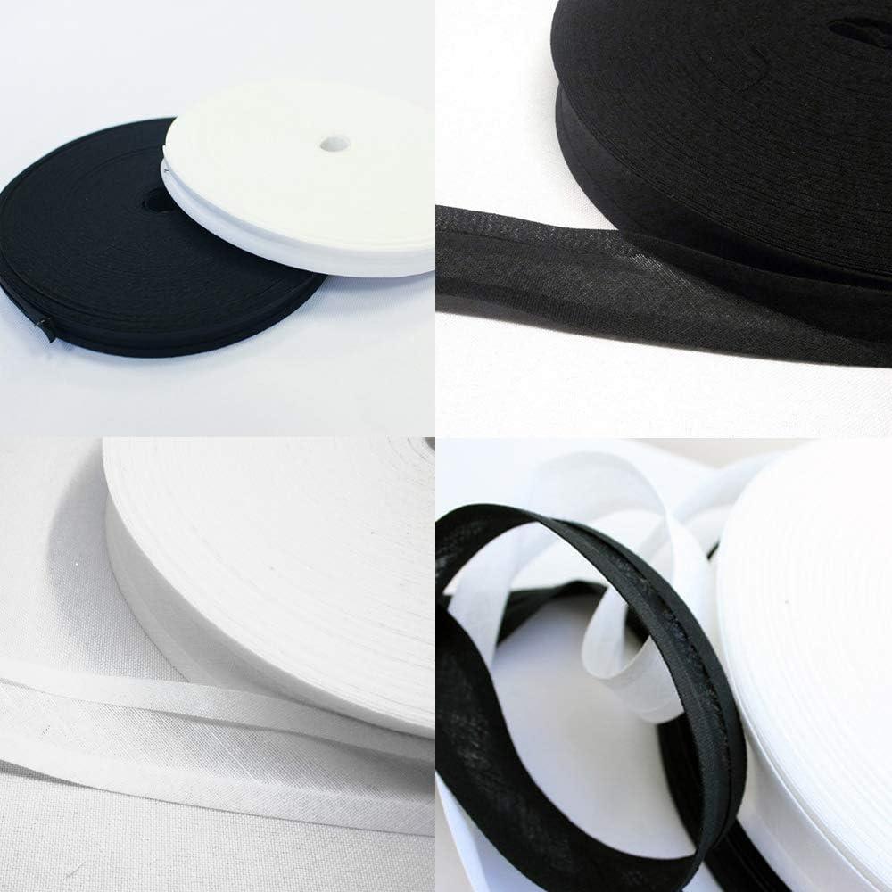 Accessories Attic - Cinta al bies (100% algodón, 25 mm), color ...