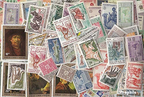 Mauritania 100 Different Stamps (Stamps for Collectors)