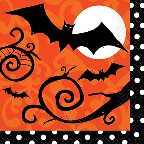 (Amscan Frightfully Fancy Halloween Lunch Napkins (36)
