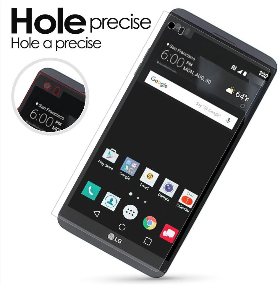 LG V20 Protector de pantalla, G-color [cobertura completa] [funda ...