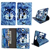 Best Portfolio Case For Dragons - Snow Wolf tablet case 10 inch for Dragon Review