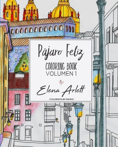 Pajaro feliz: Coloring book volumen1: Amazon.de: Elena Arlett ...