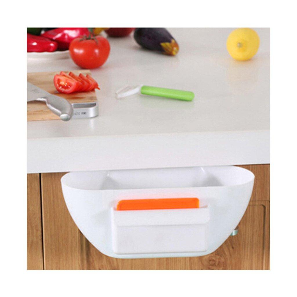 Factory Direct die neuesten Strange neue Küche Gadget Küche Trash kann Aufhängen Kunststoff Aufbewahrungsbox Aufbewahrungsbox Weiß
