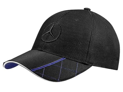 Mercedes-Benz Tapa Negro hombres / azul 100% Algodón: Amazon.es ...