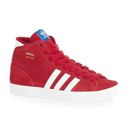 reputable site 59dbe c2dbc adidas Sneaker Alta Basket Profi K RossoBianco EU 31