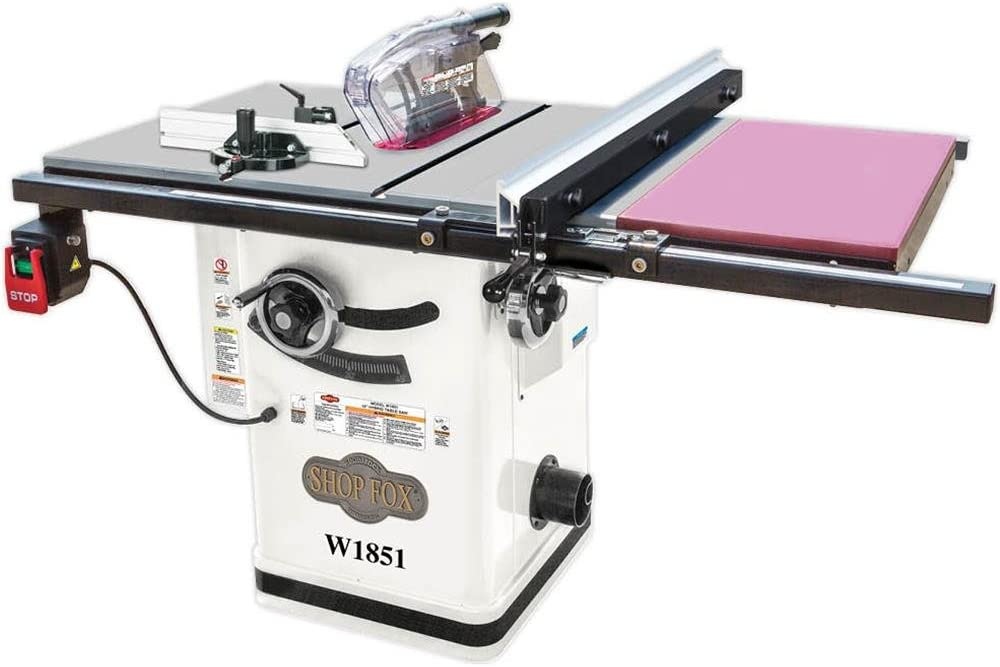 Shop Fox W1851 Table Saws product image 1
