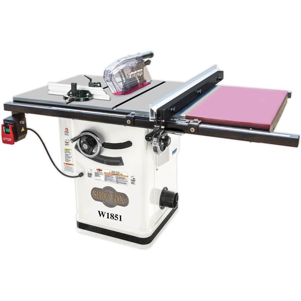Shop Fox W1851 – The Sturdiest Hybrid Table Saw