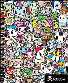 Amazon.com: tokidoki Sketchbook with Spiral (9781454921899