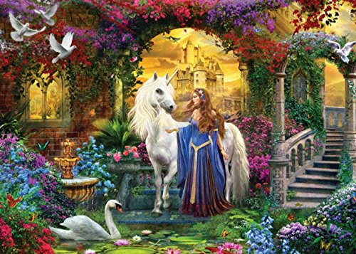 MasterPieces Glitter Pride of the Palace Jigsaw Puzzle, Art by Jan Patrick, 500-Piece