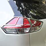 Kadore for Toyota C-HR 2018 2019 Chrome Rear Light Tail Lamp Cover Trim 4-pc