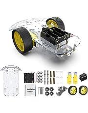 diymore 2WD Robot Smart Car Chassis DIY Kits Motor Inteligente con Velocidad de Seguimiento y Taco
