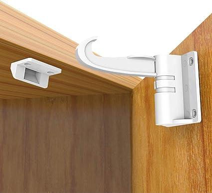 Lot de 5 multifonction enfants tiroir armoire placard magnétique verrouillage de sécurité