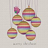 Art Needlepoint Merry Baubles Kit by Skye Rogers