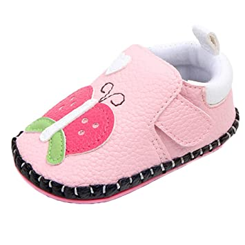 Amazon.com  Newborn Infant Baby Girls Cute Shoes Soft Sole Animals First  Walker Toddler Shoes (6~12 Months c6c5ceb08adb