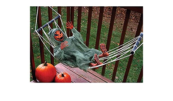 amazon     pumpkin lazy bones in hammock   garden  u0026 outdoor  rh   amazon