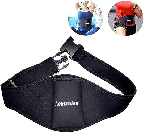 Cinturón de micrófono/cinturón de micrófono negro para transmisor ...