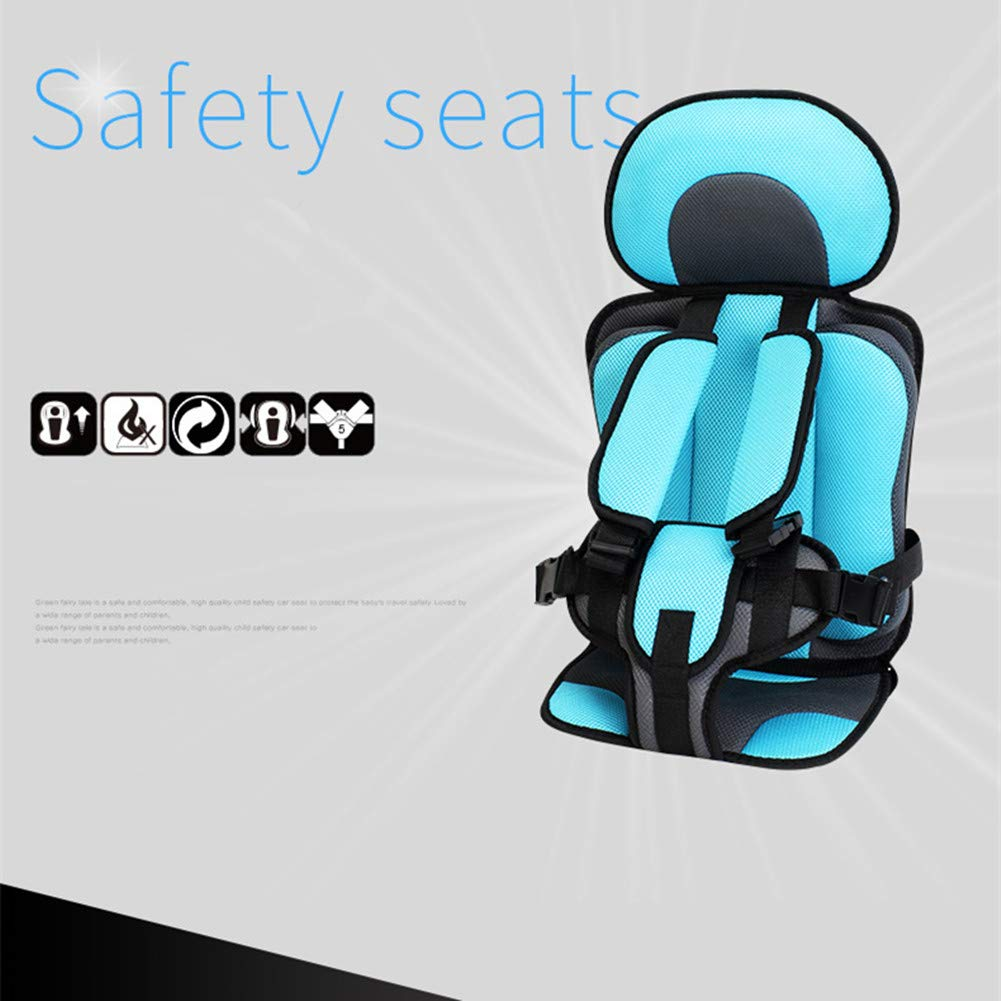 Large Simple Baby Car Seat Portable Seat 4-12 Universal Seat Orange Meiyiu Convertible Car Seat